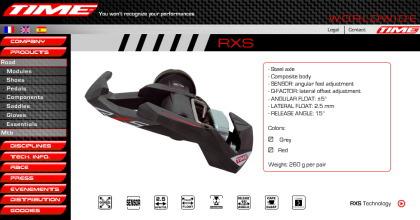 TIMEのペダル「RXS」