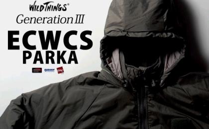 【ワイルドシングス】WILD THINGS/ECWCS PARKA