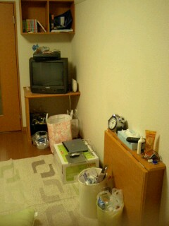 部屋の右半分