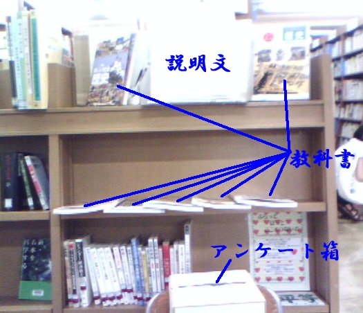 教科書展示会説明図