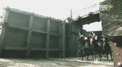 船から下りる騎馬