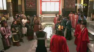 タムトクの入城を拒むキハ