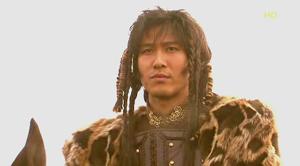 部族の青年