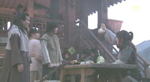 4話、ヒョンゴ・スジニ・タムドクのいる酒場