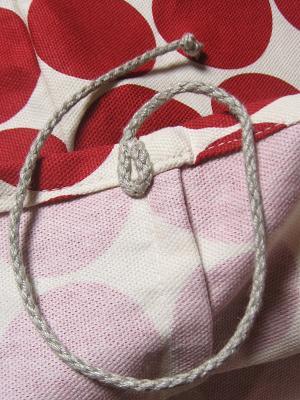 ⑥麻ひもはこんなふうに縫い付けてあります