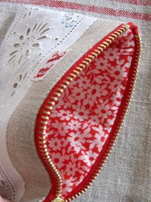 ⑤内布赤白のお花