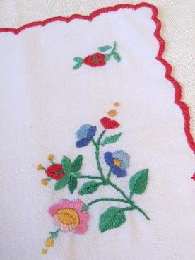 ②ハンガリアン刺繍部分