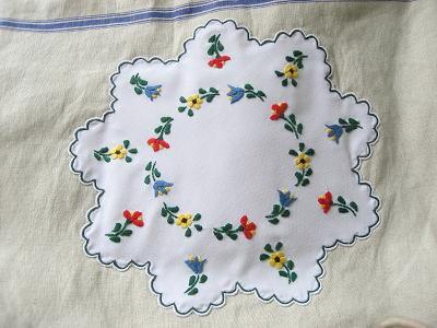 ②ハンガリアン刺繍あっぷ