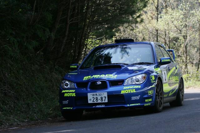 2007年ツール・ド・九州総合優勝の勝田範彦/北田稔組