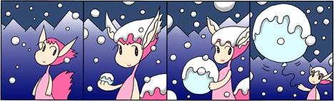 雪ふうせん