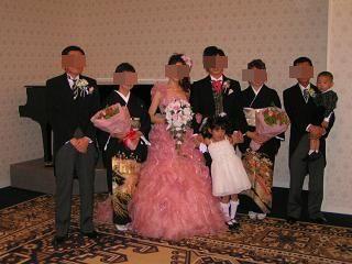 結婚式2モザイク