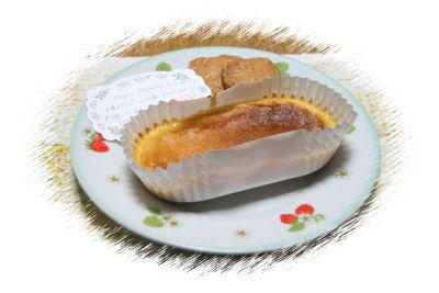 【プレゼント】チーズケーキ