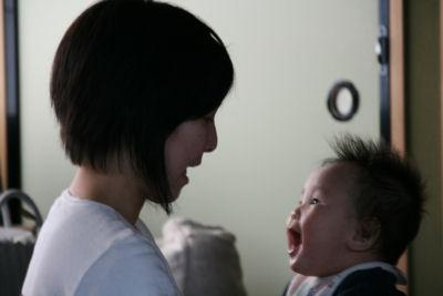 【赤ちゃん天国】母ちゃん大好き