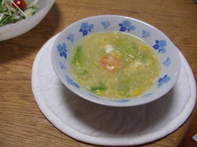 菜の花風スープ