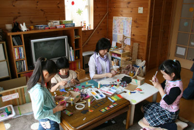 【おもちゃの広場】工作教室