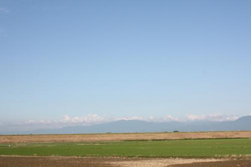 青い空&お山