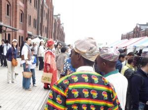 アフリカンスタイル?
