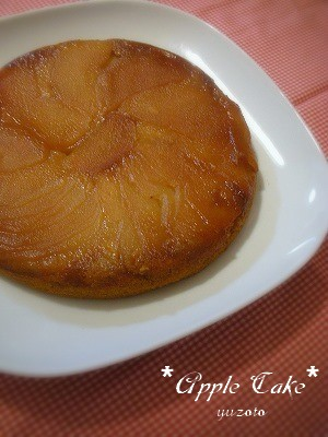 りんごのケーキ1