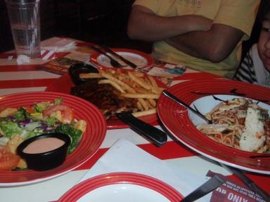 アメリカンな食事