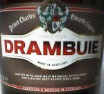 DRAMBUIE(label)