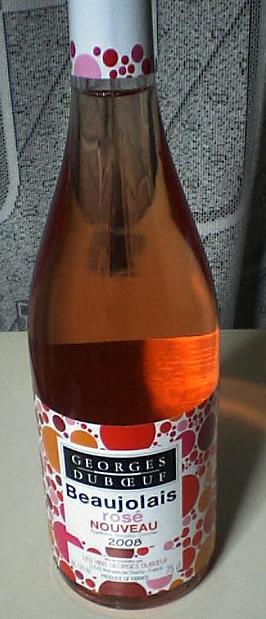 Beaujolais NOUVEAU rose(Georges Dubceuf)