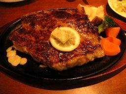 600gサーロインステーキ