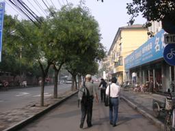 朝の北京をぶらり