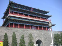 いかにも中国っぽい、正陽門