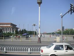 天安門広場あたり