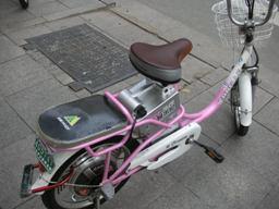 勝手に走る自転車