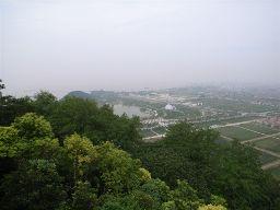 揚子江が見えます。