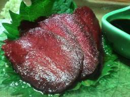 血の滴る生肉(*゚ρ゚)