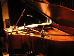 ピアノとセッション