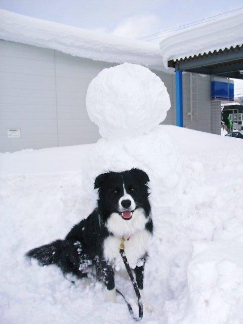 雪だるま作成、途中で断念。