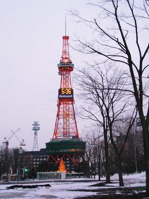 テレビ塔でごんす。