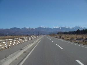 道路からの光景