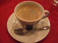 デギスタシオン 食後のコーヒー