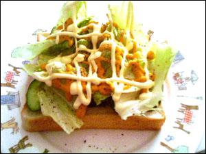 サラダパン。