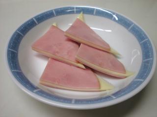 ハムのチーズサンド