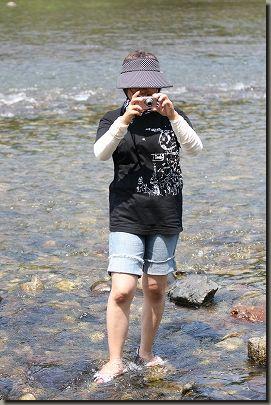 川遊び 075