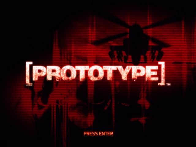 PROTOTYPE title