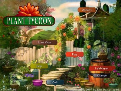 PlantTycoon タイトル画面