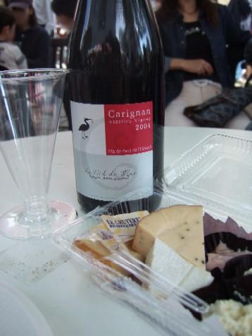 チーズとワイン1