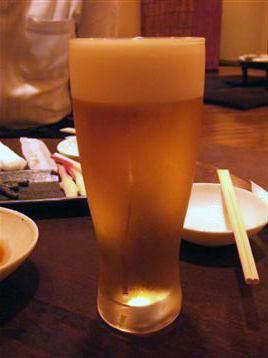 キメ細やかビール