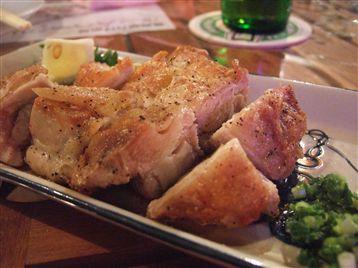 地鶏パリパリ焼き