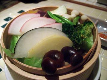 本日の蒸し野菜