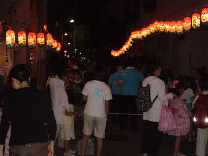 西九条盆踊り3