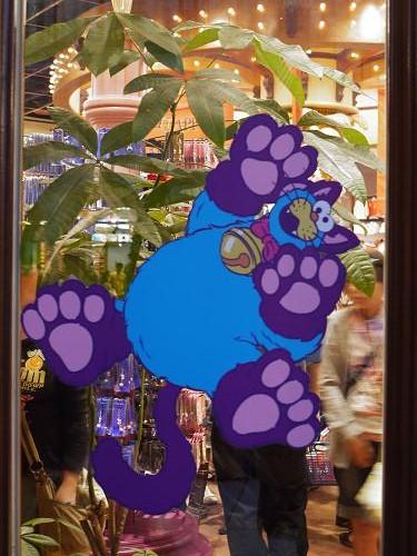 USJクッキーモンスター猫2