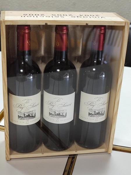 シェフの店祝パーティーワイン