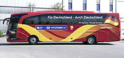 ドイツ代表バス